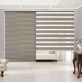 Zebra 3d printed roller blinds day and night blinds