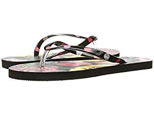 b9680a40d102bc Get Quotations · Vera Bradley Flip Flops Havana Rose Women s Slippers