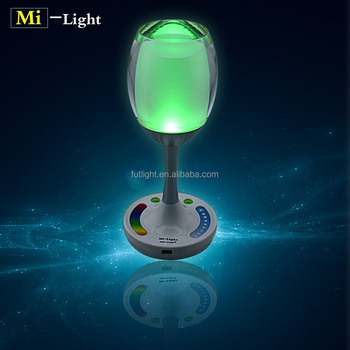 Rgb Table Stand Led Light Bulb Color Change With Wifi Remote ...