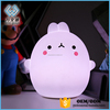 Night Light LED bunny Lamp Silicone Remote Control 7 Different Color for Kid Bedroom.