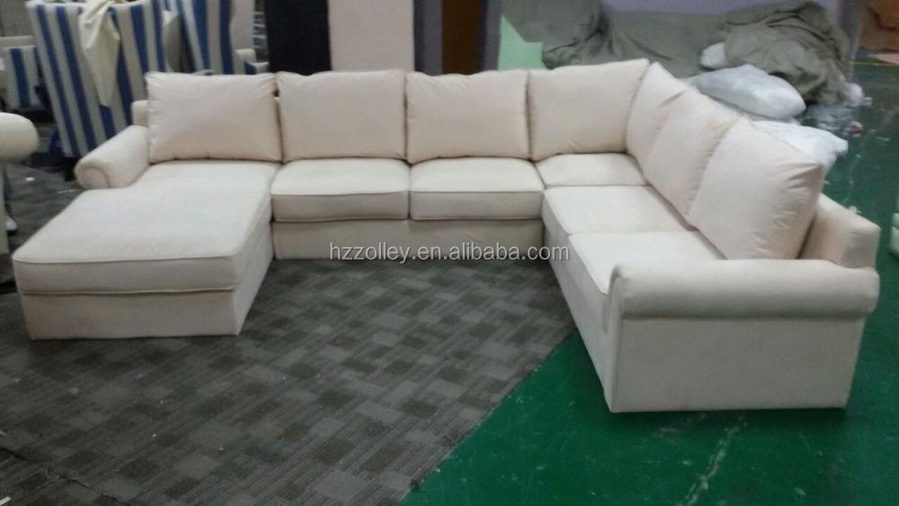 Антикварный американский стиль гостиная угловой секционный диван