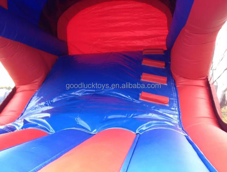 2016 hot sale inflatable bounce and slide combo /inflatable bouncy castle/inflatable jumping castle