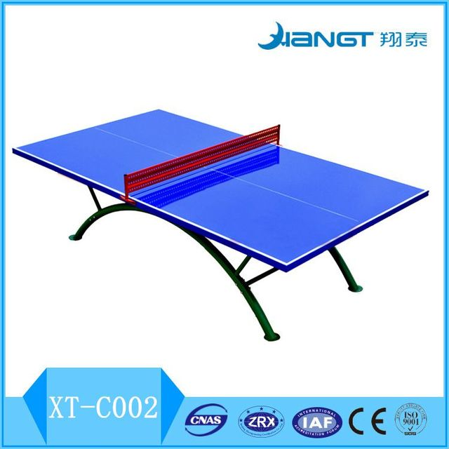 Gym Equipment Ping Pong Table Waterproof Table Tennis Table