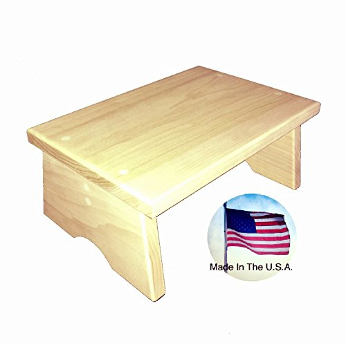 Get Quotations Wood Step Stool By Tiny Working Sy Poplar Small Made In America Hand Crafted