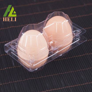 Eco Friendly Packaging Plastic Hen Eggs Box