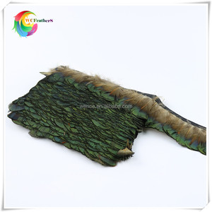 wholesale cheap pheasant feather peacock head feather for decoration