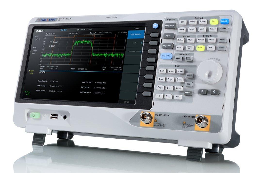 Siglent SSA3032 X-TG Digital Spectrum Analyzer 9KHz-3.2GHz WITH Tracking Generator