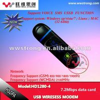 wireless 3g pci modem with high quality