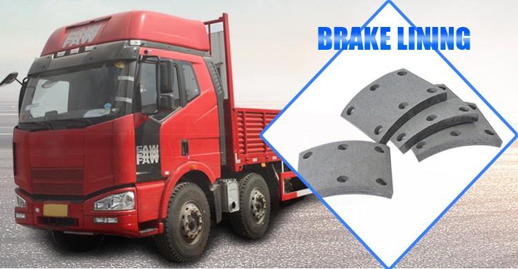Semi Truck Brake Lining : Raw material truck brake lining buy