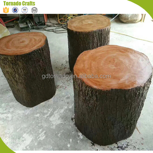 Real touch artificial tree trunk High Simulation artificial tree stumps decorative tree stumps
