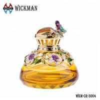 empty perfume glass bottle for decoration