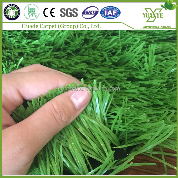 Outdoor football mini green 50mm landscaping artificial grass carpet