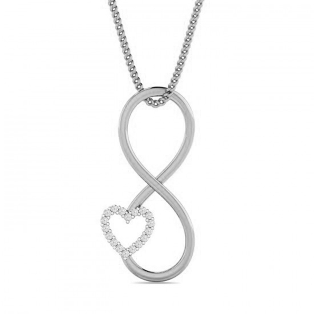 925 sterling silver heart pendant necklace jewelry фото