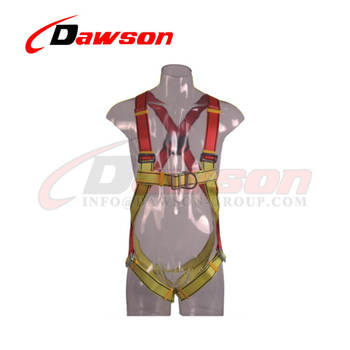 Nylon Webbing 5 D Ring Full Rescue Harness Safety Harness ...