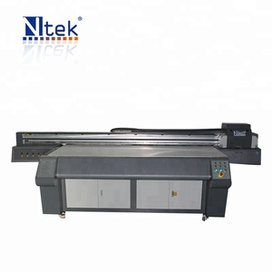 Factory supply NTEK large format digital printing on mdf board printing machine inkjet printer in China for sale