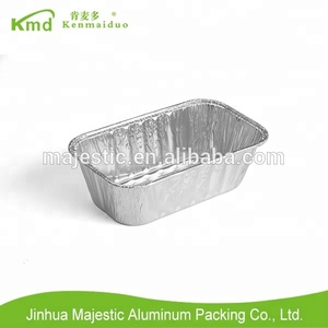 Household kitchen aluminium foil disposable mini loaf bread pan