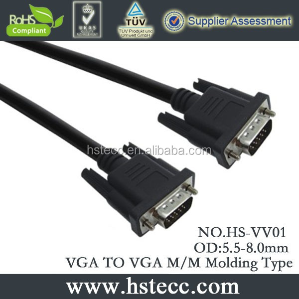 20 Meter SVGA VGA Monitor Extension Cable for PC / Laptop to Mointors / Projector