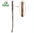 15 years factory varnished natural wooden walking mountain stick