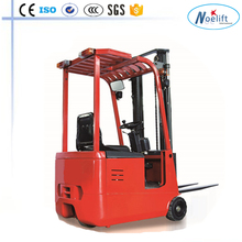 china forklift manufacturer 1T/1.5T 3-4.5M TKA series three wheels electric forklift