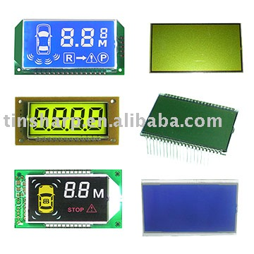 Custom LCD display module