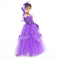 NE58 Kids Birthday Party baby girl Tutu kids fancy dress cosplay costume