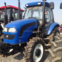 100HP China Cheap HUAQXIA farm Tractor HX1004 with FOTON cover
