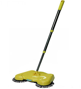 PP plastic hand propelled cordless broom