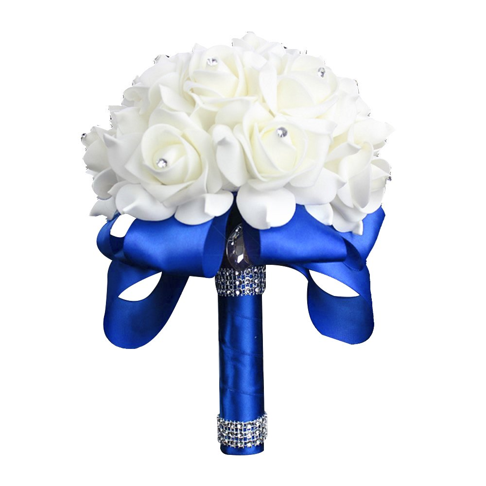 Cheap Royal Blue Silk Flowers Find Royal Blue Silk Flowers Deals On