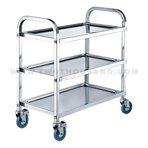 TT-BU100C 3 Layer 750X400X835MM Hotel Food Service Trolley Cart for Sale