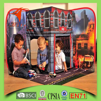 Fire Brigade Kidu0027s Toy Tent/Pop Up kidu0027s playing House Tent/ Indoor Outdoor Foldable & Fire Brigade Kidu0027s Toy Tent/pop Up Kidu0027s Playing House Tent ...