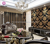 Fashion Eco-Friendly Colorful Country Style Embossed Chinese Design Wallpaper