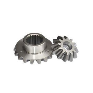 40cr material precision machined parts bevel gear set for transmission