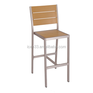 1.8mm tube thickness garden wood chair banquet dining chair chairs dining wood