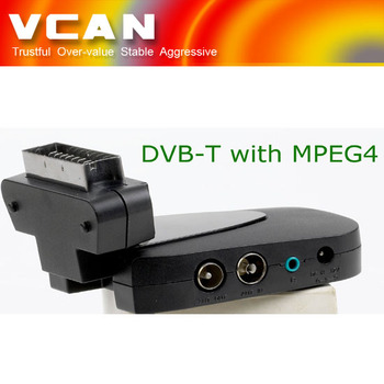 mini scart dvb-t mpeg4 HD player dvb-t tuner,dvb-t digital tv high quality