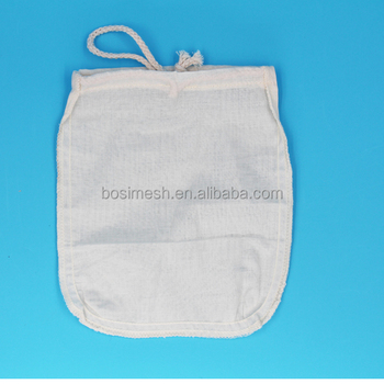 Organic Cotton Cold Brew Coffee Bag Filter Product On Alibaba