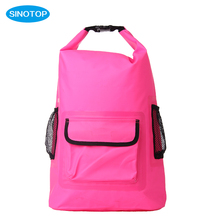 Supreme promotion rolling backpack OEM back pack school bag for beach ,floating ,camping