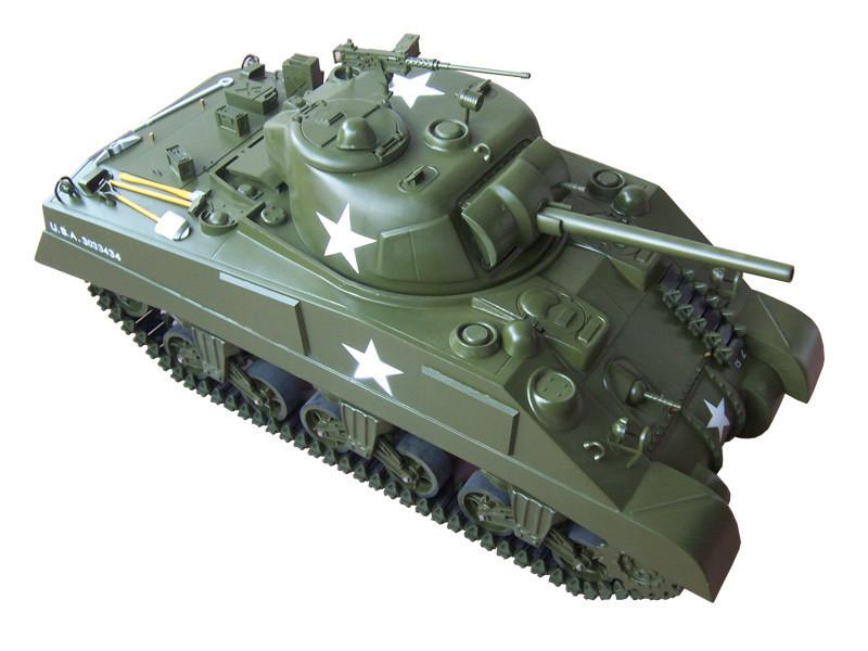 225ET601-1/6 M4 Sherman Tank Electric Powered - RTR