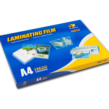 Guangzhou Yuhan lieferant großhandel Laminieren Pouch <span class=keywords><strong>Film</strong></span> A4 PET + EVA Laminiert <span class=keywords><strong>Film</strong></span> 100MIC