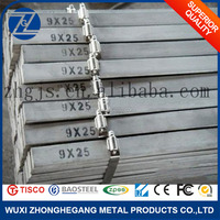 Oxidation Resistant Stainless Steel Flat Bar Sizes