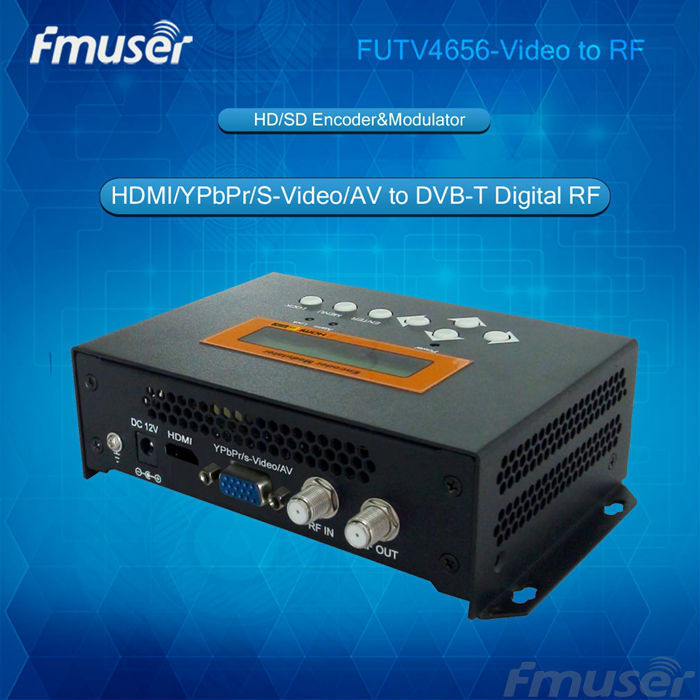 YPbPr in Distribute Video Over Coax Cable (Tuner,HDMI,YPbPr/CVBS/S-Video in; RF out) with USB Record/Save/Playback hch