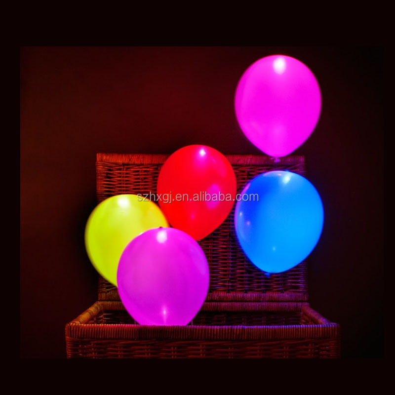 factory wholesale LED Light balloons ,latex balloon for birthday - Safe for Kids ,led balloon