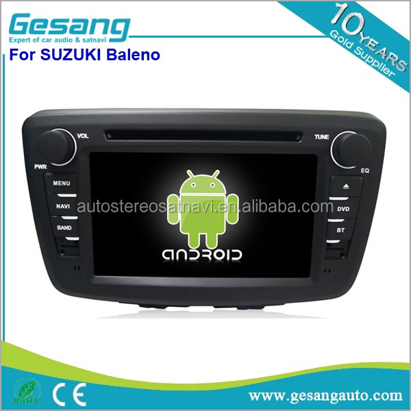 Android 6.0 car radio 2 din car dvd with gps for Suzuki Baleno