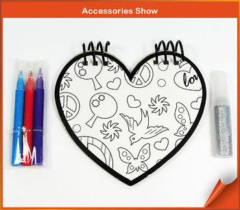 çocuklar Boyama Sanat Diy Kalp şekilli çekme Dizüstü Buy çocuklar