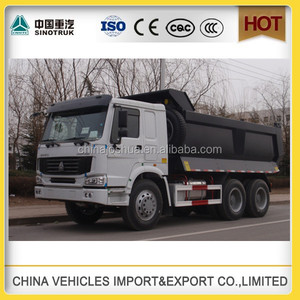 China supplier Sinotruk howo construction tipper price