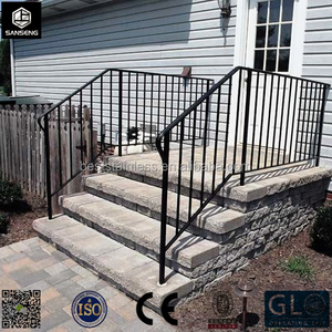 Foshan Customized Outdoor Wrought Iron Stair Railing