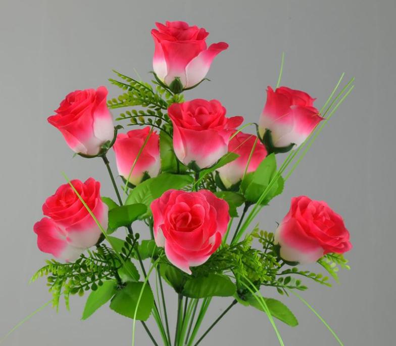 Plastic Flower Bouquet Wedding Silk Rose Flower Bouquet Buy Blue Rose Bouquet Plastic Flower Bouquet Plastic Wedding Bouquet Product On Alibaba Com