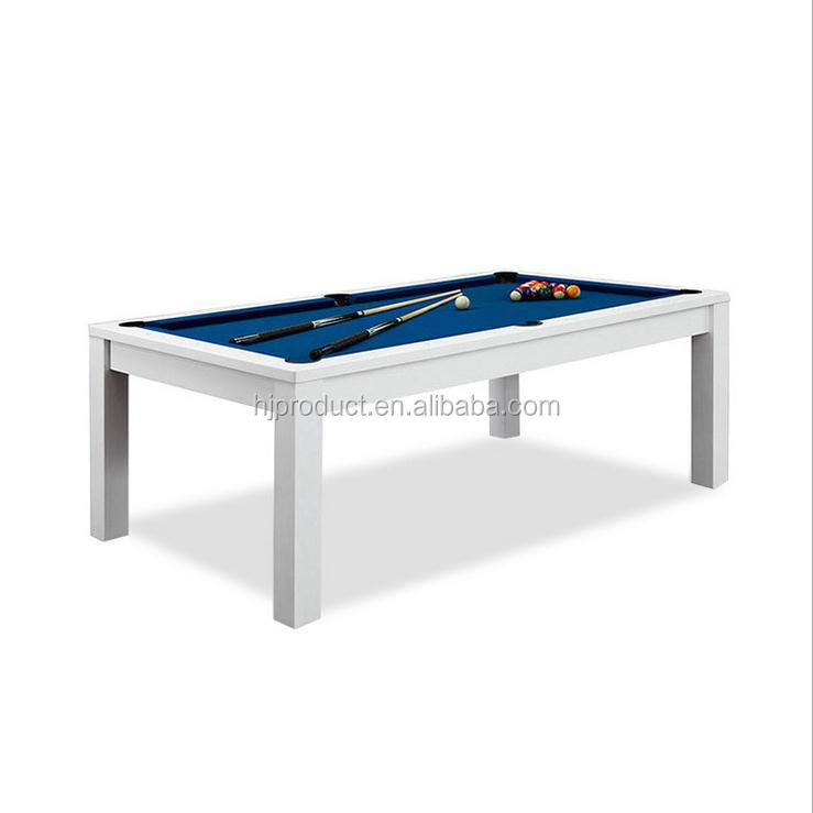 Factory hot selling 6FT 7FT indoor dining pool table , homeuse multifunctional billiards table dinner table