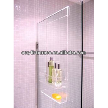 Transparent Acrylic Shower Caddy - Buy Lucite Shower Caddy With 3 ...