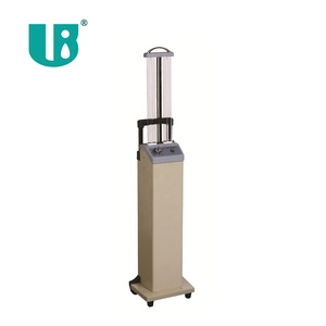 2* 36w twin tubes uv lamp trolley disinfection mobile cart for hospital sterilization