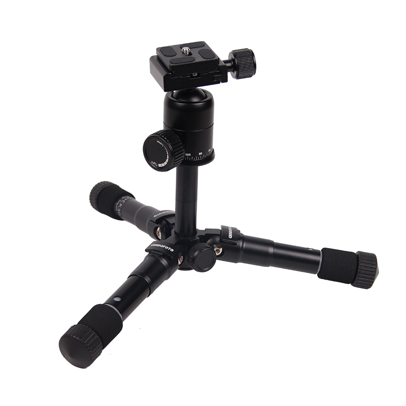 aluminum portable tripod telescopic legs light-weight scope tripods cell phone
